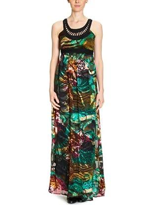 Desigual Vestido (lang) 21V2194 (Verde)