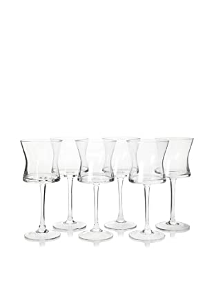 Artland Set of 6 Soho Goblets, Clear