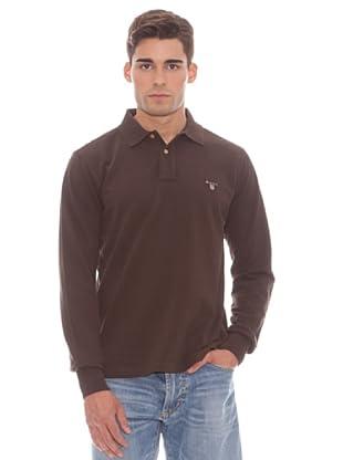 Gant Polo Liso (marrón)