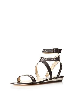 Jimmy Choo Women's Bless Gladiator Sandal (Black)