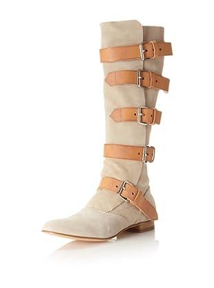 Vivienne Westwood Women's Pirate Knee Boot (Camello Beige)