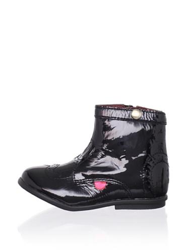 Kickers Kid's Starry Brogue Boot (Infant) (Black)