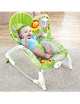 Newborn-To-toddler Portable Rocker Multifunctional Baby Rocking Chair Appease Vibrating Chairs Baby Seat Baby Bouncers