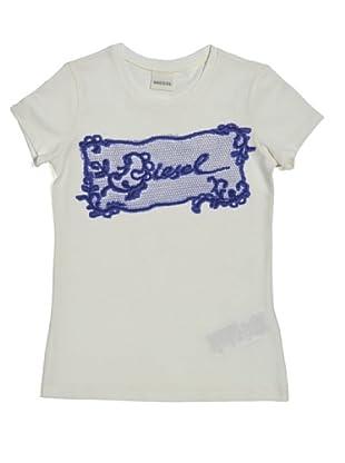 Diesel Kid T-Shirt Junior Tivinu (Elfenbein)