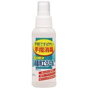 消毒用エタノール Aケンエー(スプレー式) 100mL 【HTRC3】