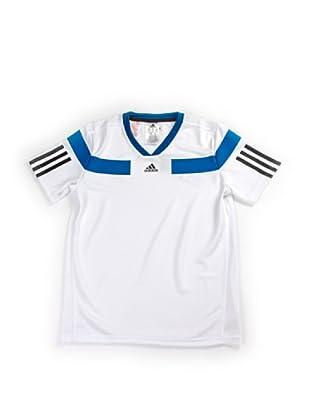 adidas Camiseta Tennis (Blanco / Azul)