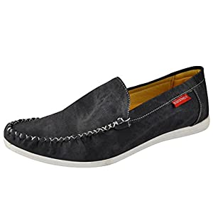 Marco Ferro 1479 Male Synthetic Loafers - Black