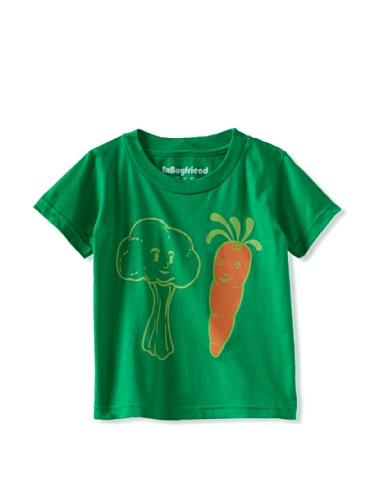 Ex-Boyfriend Boy's Eat Your Veggies T-Shirt (Green)