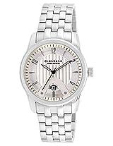 Giordano Analog White Dial Men's Watch - P117-22