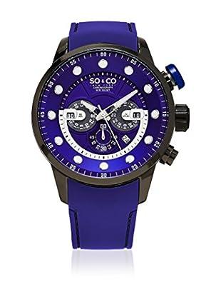 SO & CO New York Uhr mit japanischem Quarzuhrwerk Man GP16097 50 mm