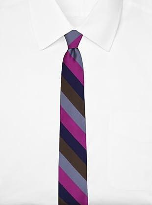 Ben Sherman Men's Royal Stripe Tie, Pink