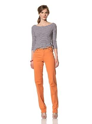 Christopher Blue Women's Joanie Straight Leg Pant (Melon)