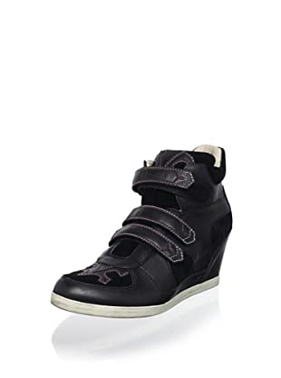 Koolaburra Women's Preston Fashion Sneaker (Black)