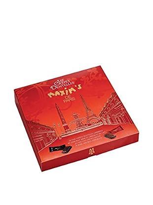 Maxim's de Paris Box of 24 Dark & Milk Chocolate-Coated Lace Crêpes