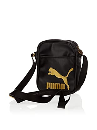 Puma Umhängetasche Originals Portable, 2 liters (black-gold)