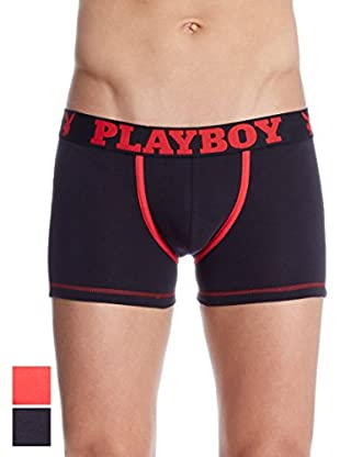 Playboy 2tlg. Set Boxershorts Rabbit Playboy