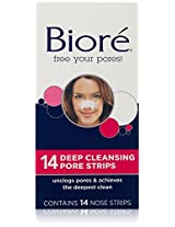 Biore Deep Cleansing Pore Strips , 14 Count