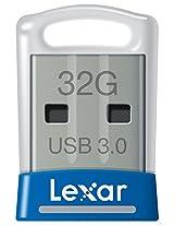 Lexar JumpDrive S45 32GB USB 3.0 Flash Drive - LJDS45-32GABNL (Blue)