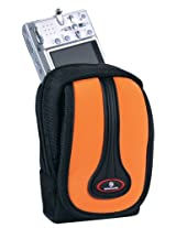 Vanguard Tokyo 6A Melon Colored Camera Pouch with Zipper Compartment and Velcro Flap