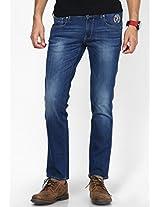 Blue Regular Fit Jeans(Rockville)