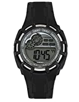 Calypso Black PU Digital Men Watch K5625 1