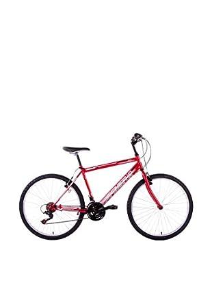 Schiano Cicli Bicicleta 26 Wild Cat, 18V. Rojo