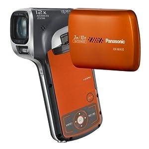 Panasonic HX-WA10 Camcorder-Orange