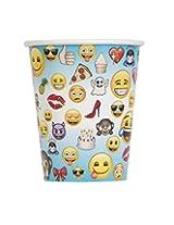 Unique Emoji Party Cups (8 Count), 9 Oz