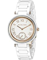 Michael Kors Analog White Dial Women's Watch - MK6240