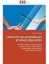 Capacites Relationnelles Et Roles Educatifs