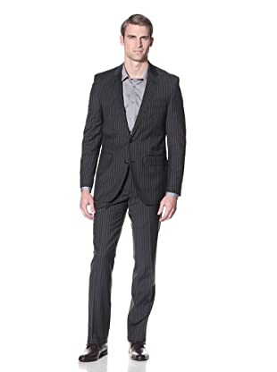Ike by Ike Behar Men's Merida Suit (Charcoal Stripe)