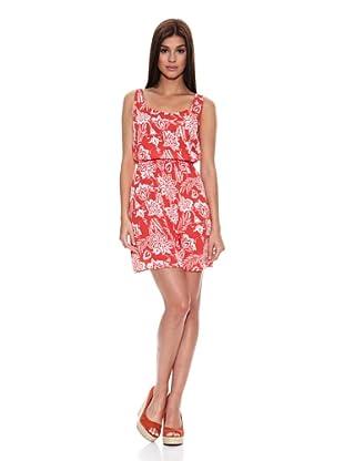 Springfield Vestido Roots Dress (Rojo)