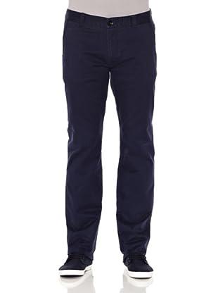Slazenger Pantalones Chinos Clubhouse (Azul Marino)
