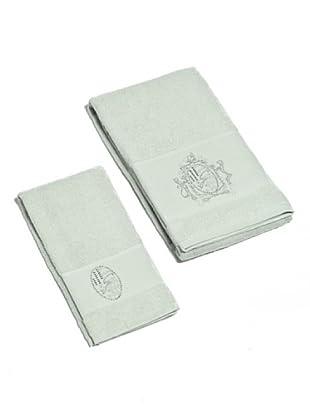 Gattinoni Set 2 pezzi asciugamano Araldico (grigio)
