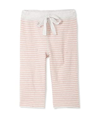 Neige Baby Harlon Striped Pants (Oatmeal/Rose)