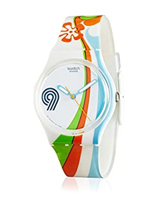 Swatch Reloj de cuarzo Beach Curl GW139  34 mm