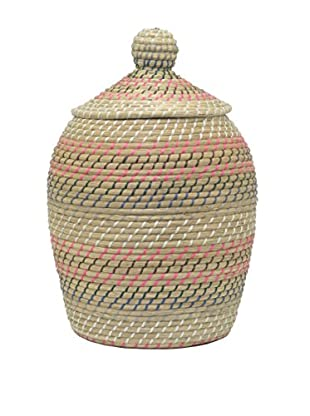 Three Hands Cobra Basket, Sea Grass