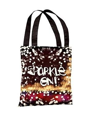 Oliver Gal Sparkle On Multicolored Tote Bag, Multi