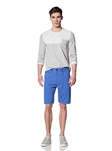 Marshall Artist Men's Cut-Down Cotton Twill Jeans (Electric Blue)