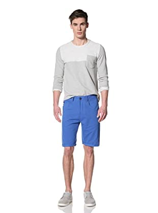 Marshall Artist Men's Cut-Down Cotton Twill Shorts (Electric Blue)