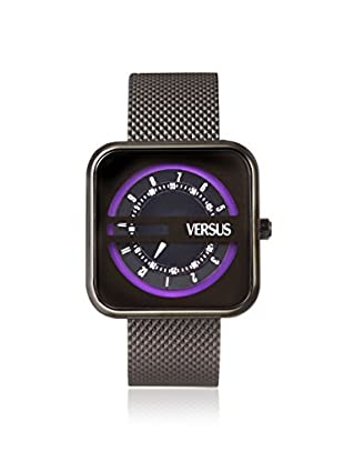 Versus by Versace Women's SGH010013 Kyoto Black Leather Watch
