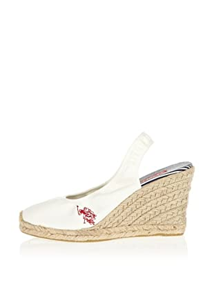 US Polo Assn Wedges Betsy (Weiß)