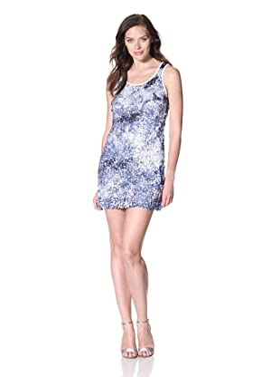 Zero Degrees Celsius Women's Sequined Dress (Ivory/Navy)