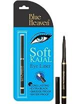 Blue Heaven Soft Kajal Eye Liner (Black)