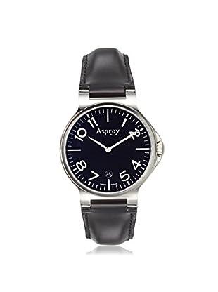 Asprey of London Men's 1015423 Black Leather Watch