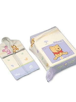 Disney Home Sacco Coperta Winnie The Pooh (Turchese)