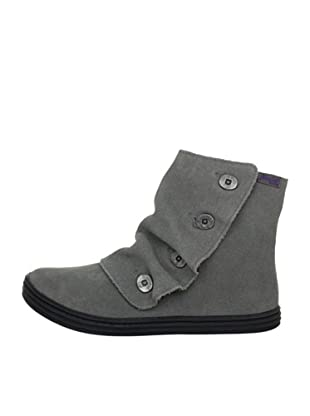 Blowfish Rabito Bootie leather BF2486-L AU12, Stivaletti donna (Grigio (Grau (grey cow suede BF229)))