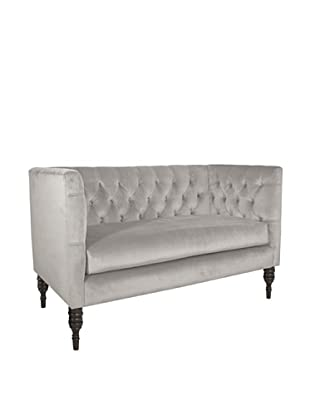 Skyline Tufted Chaise, Mystere Dove