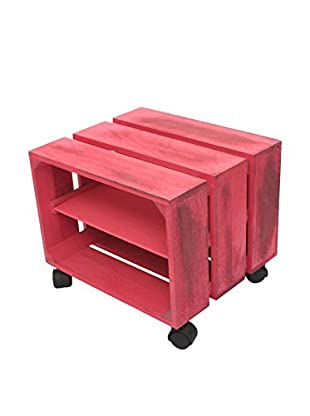 LO+DEMODA Beistelltisch Box H rosa