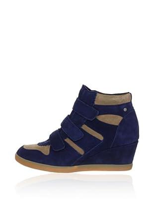 Esprit Keil-Sneaker (Blau)